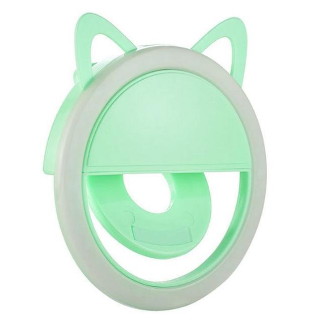 Кольцевой свет NoName Green