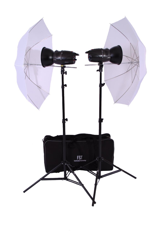 Комплект импульсных осветителей FST E 180 Umbrella