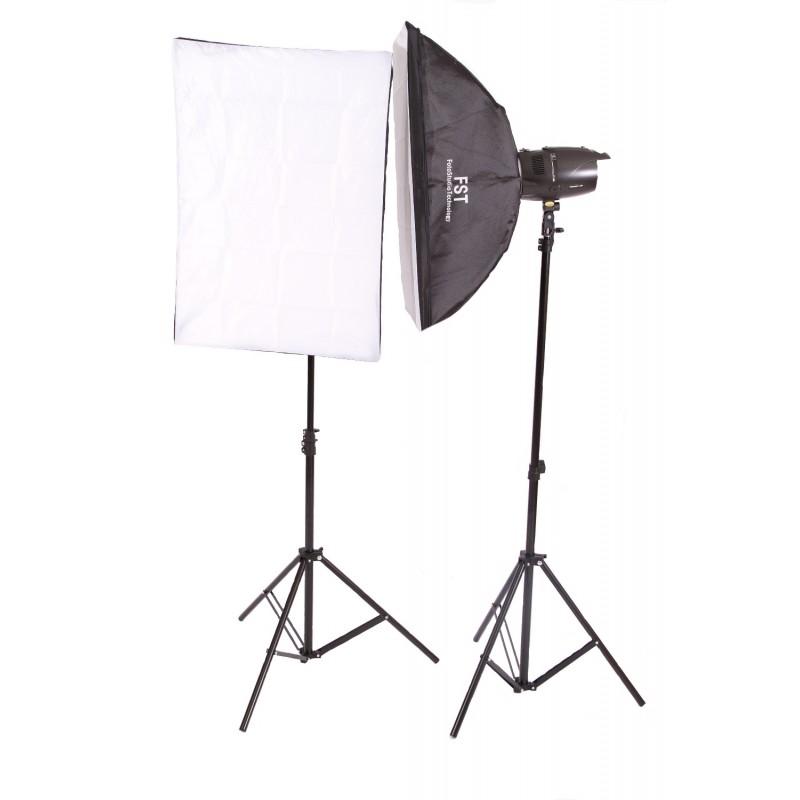 Комплект импульсных осветителей FST E 250 Softbox