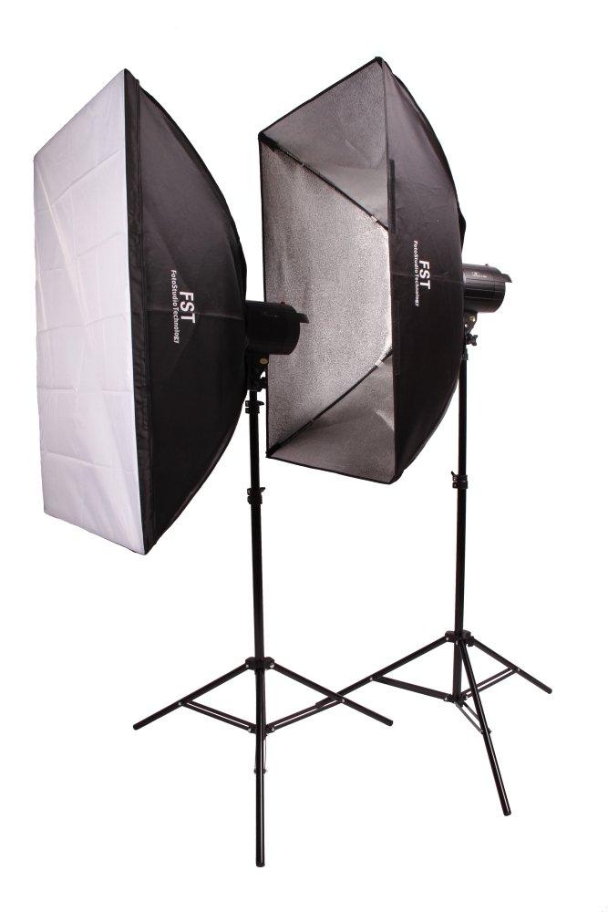 Комплект импульсных осветителей FST F 400 Softbox