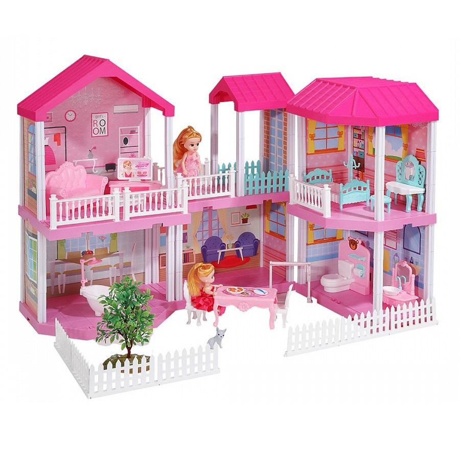 Кукольный дом с мебелью 668 3,151 деталь