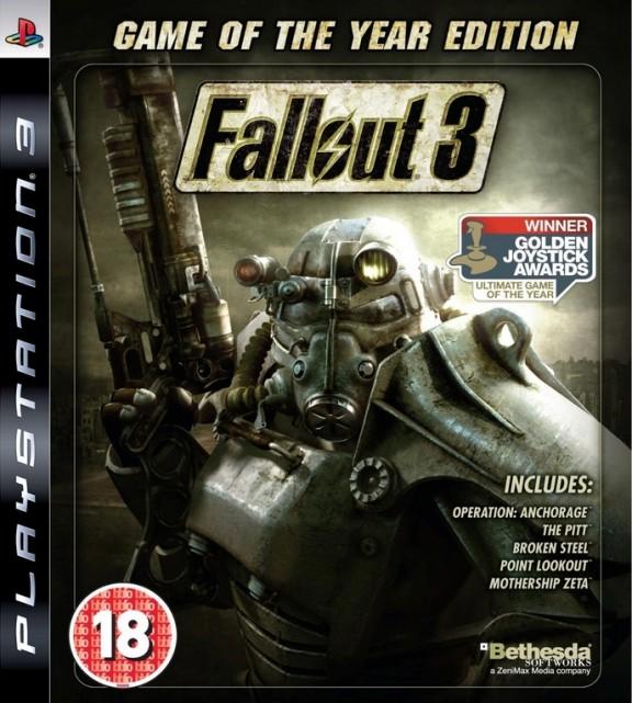Игра Fallout 3 GOTY для PlayStation 3 Bethesda