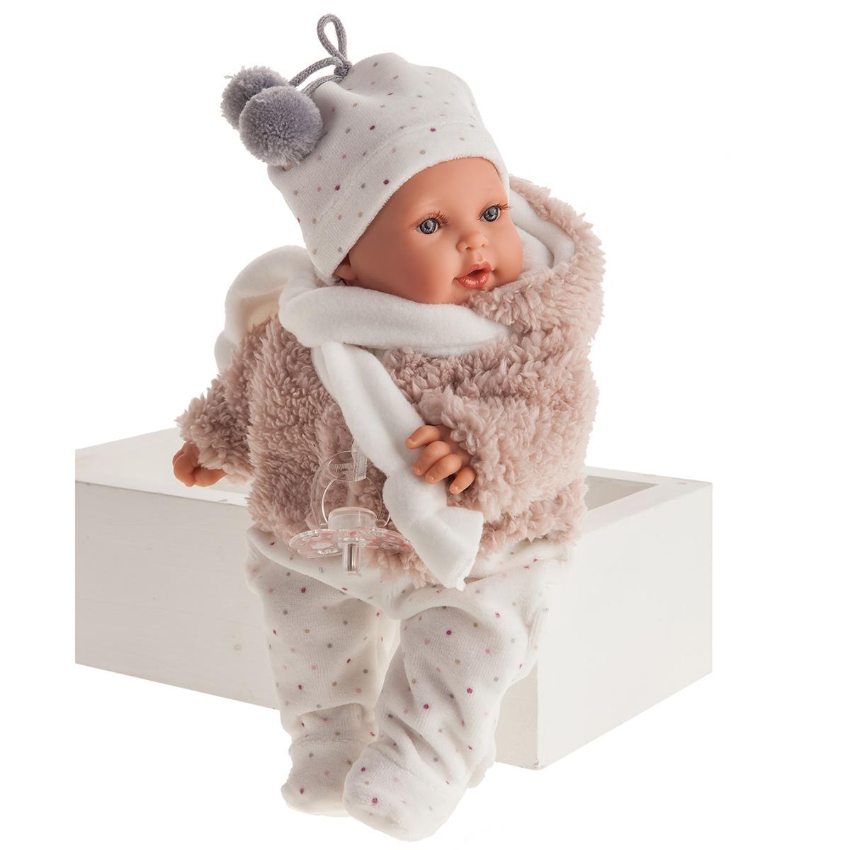 1119 Кукла Аврора в розовом, озвученная (плач),