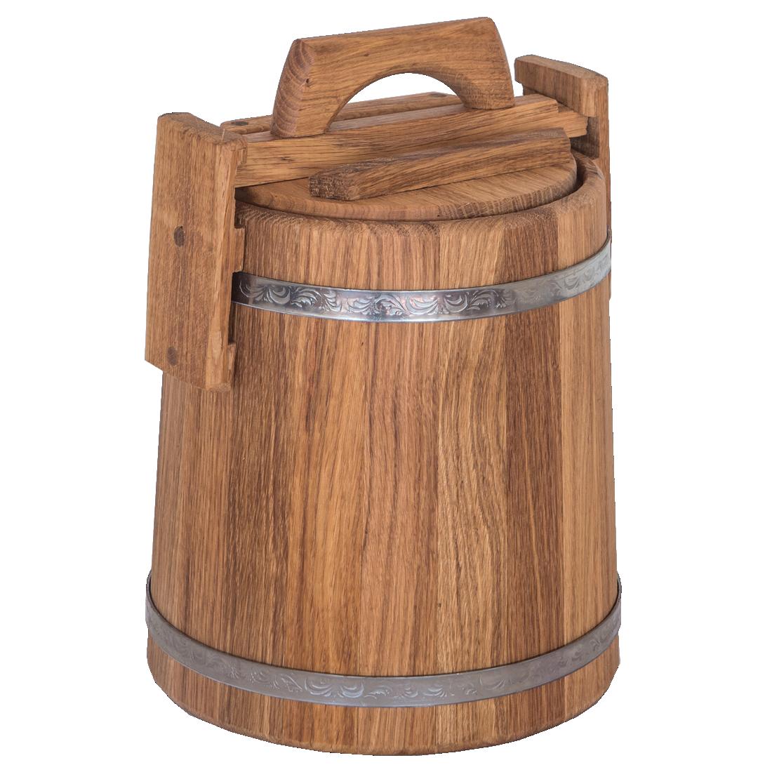 Бочка дубовая для солений 5 литров