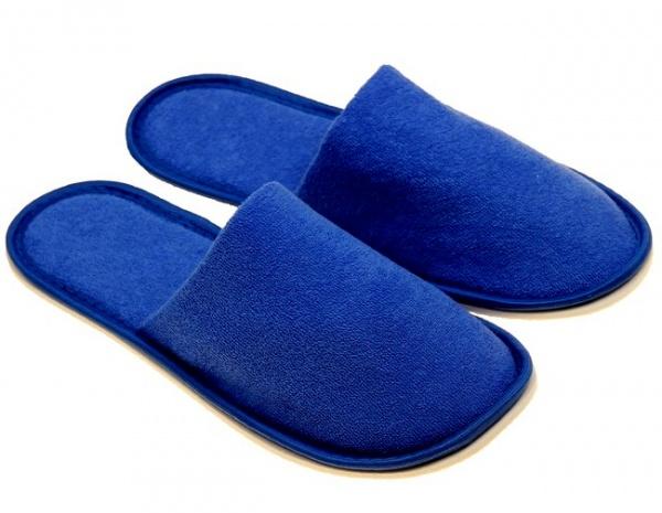 Домашние тапочки мужские ПОЛОКРОН 12706 синие