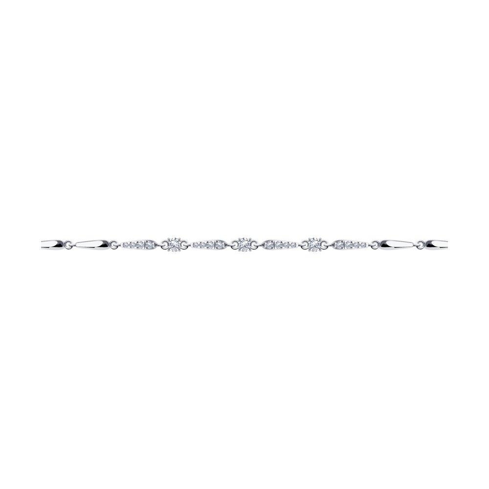 Браслет женский Diamant 94-150-00875-1 р.17