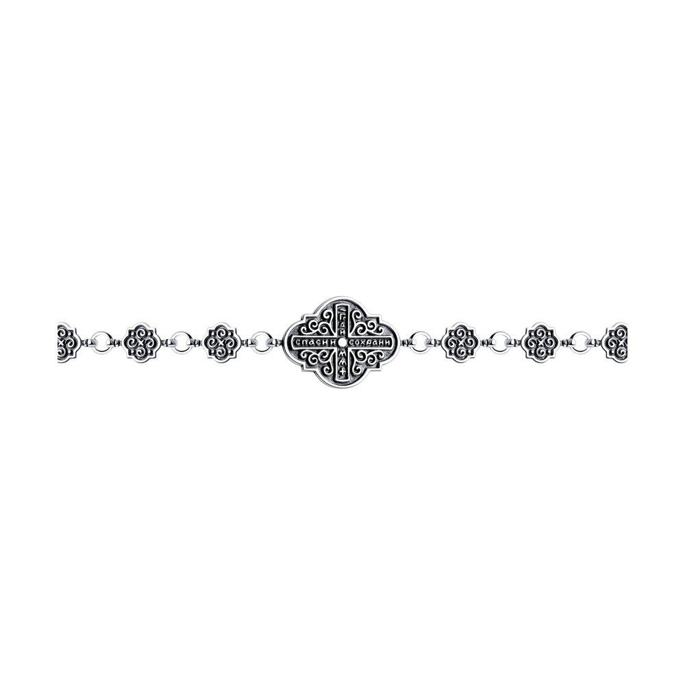 Браслет из серебра р. 17 Diamant 95-150-00890-1