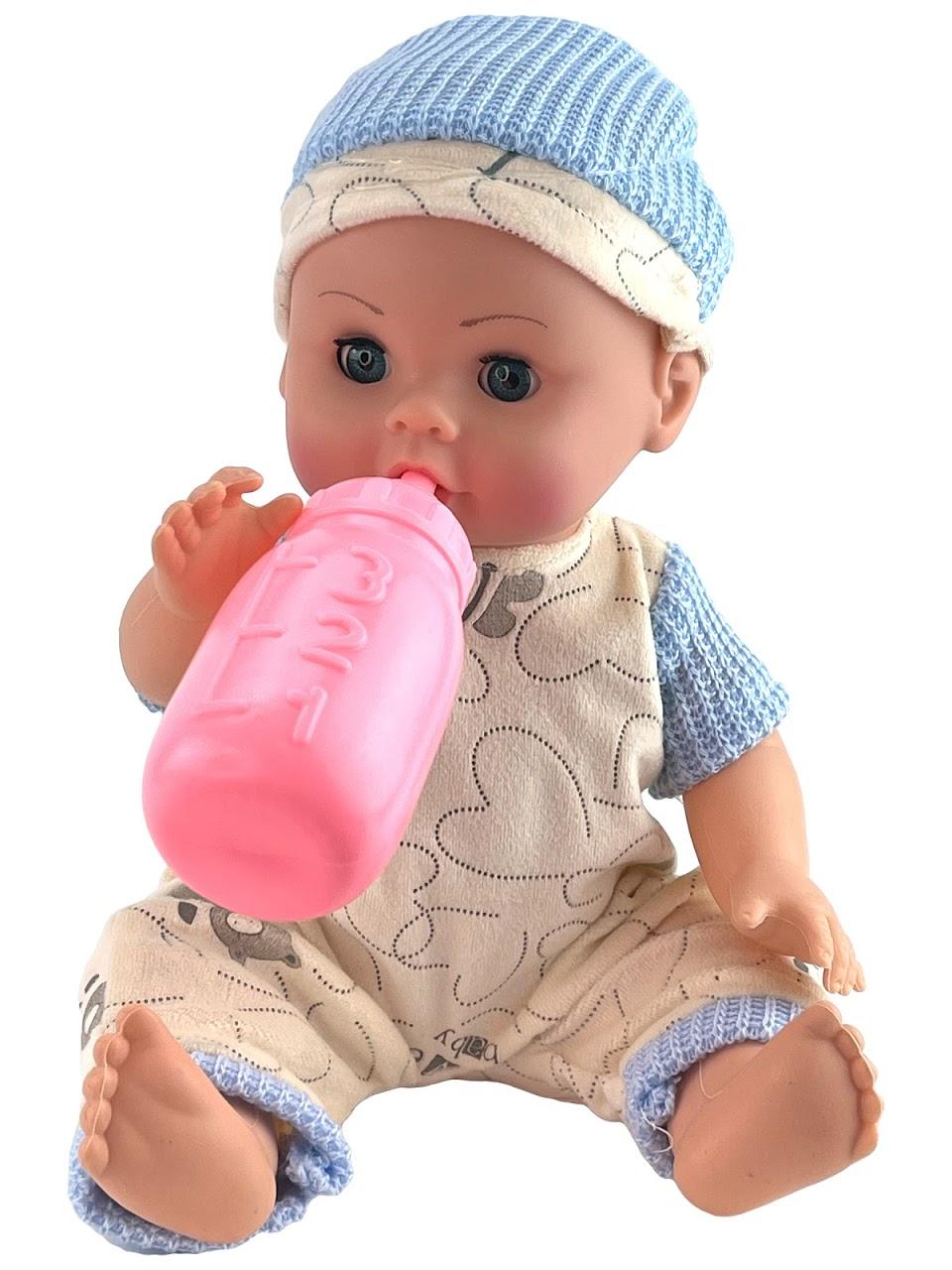 Купить Кукла интерактивная Anna De Wailly. Антон, с аксессуарами Город игр GN-7662/васильковый, Город Игр,