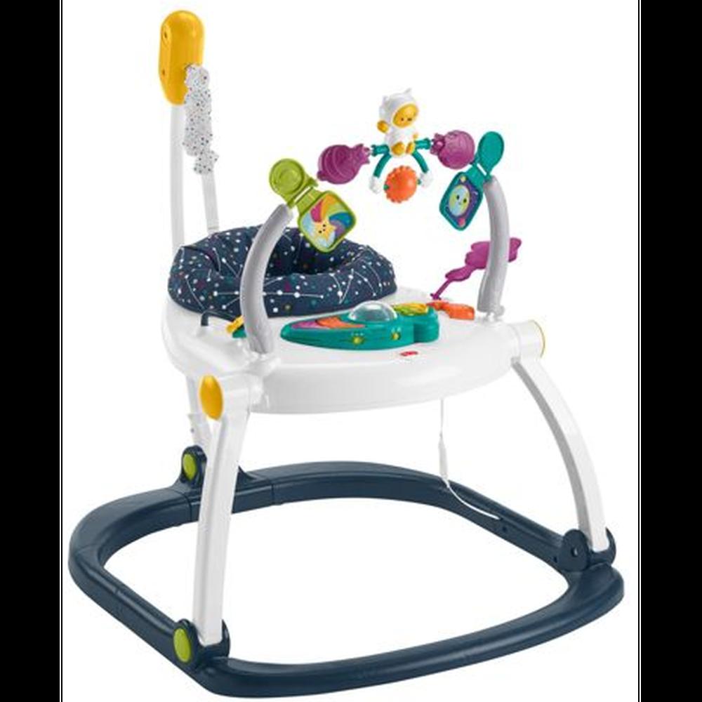 Прыгунки компактные Mattel Fisher-Price Космический котенок HBG73
