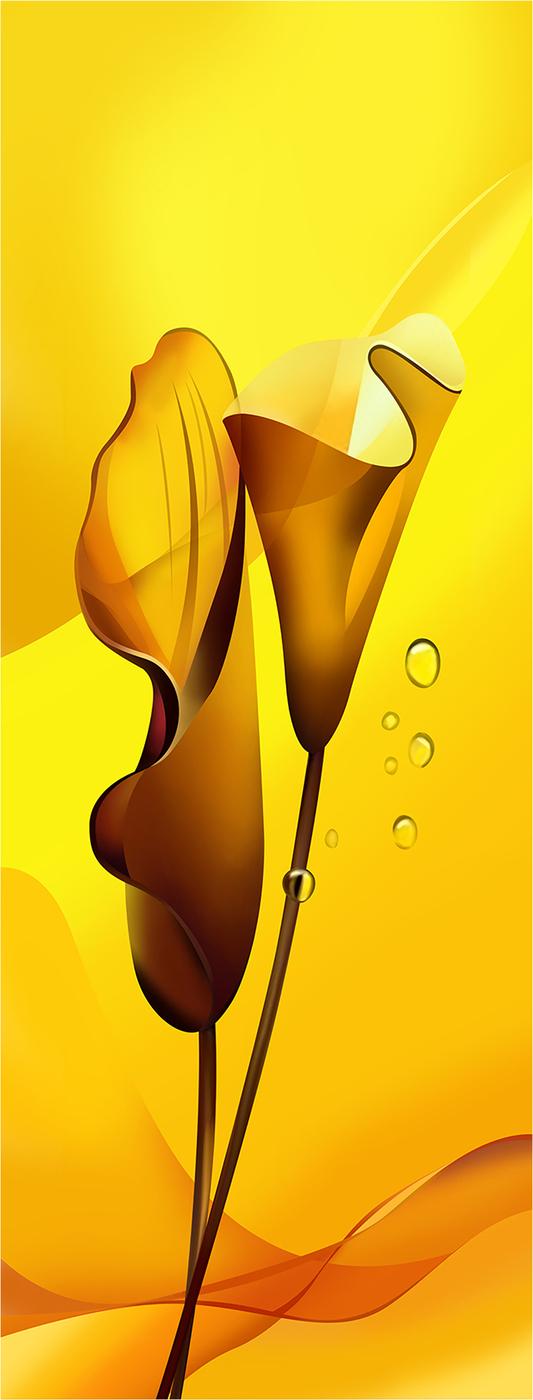 """Картина на холсте с подрамником ХитАрт """"Каллы"""" 40x105 см, 300"""