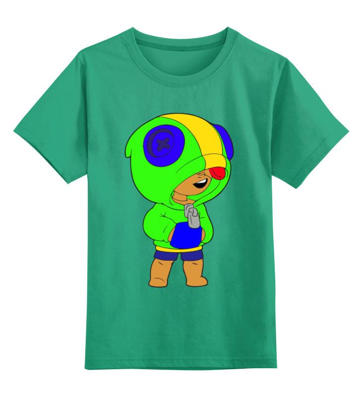Детская футболка Printio Бравл старс цв.зеленый р.128 0000003311767 по цене 990