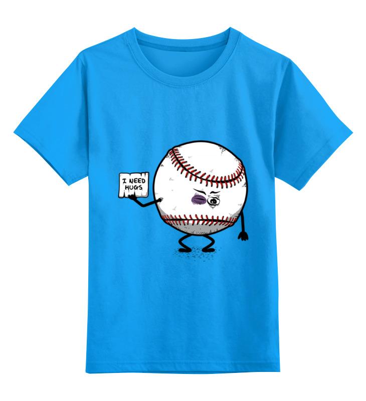 Купить 0000000641091, Детская футболка классическая Printio help me, р. 104,