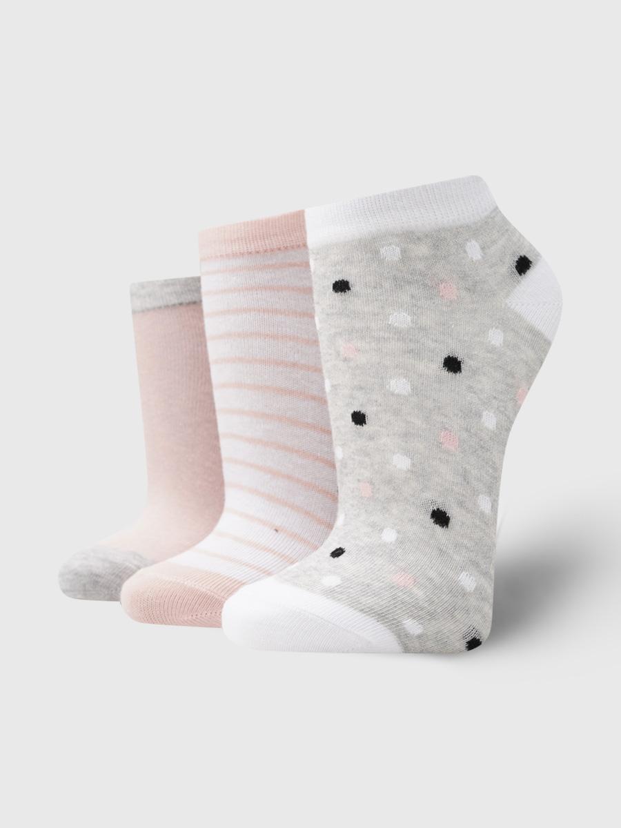 Набор носков женских ТВОЕ A6083 разноцветных ONE SIZE