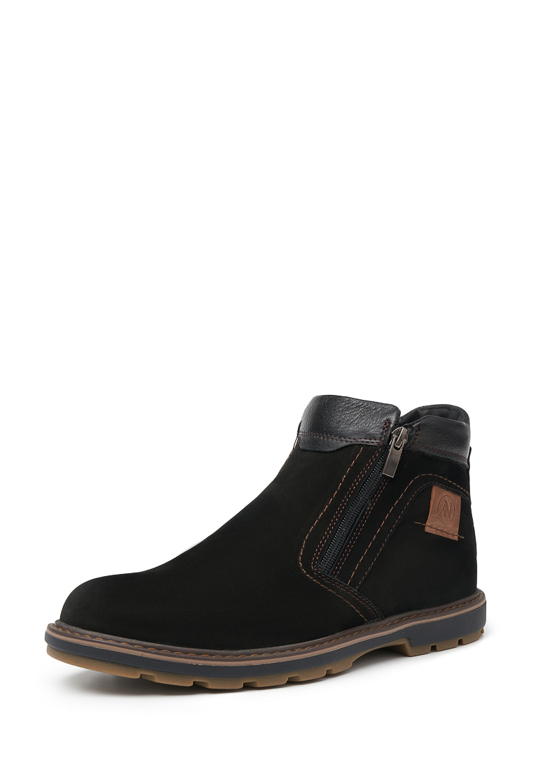 Ботинки мужские Alessio Nesca 1479 черные 43 RU