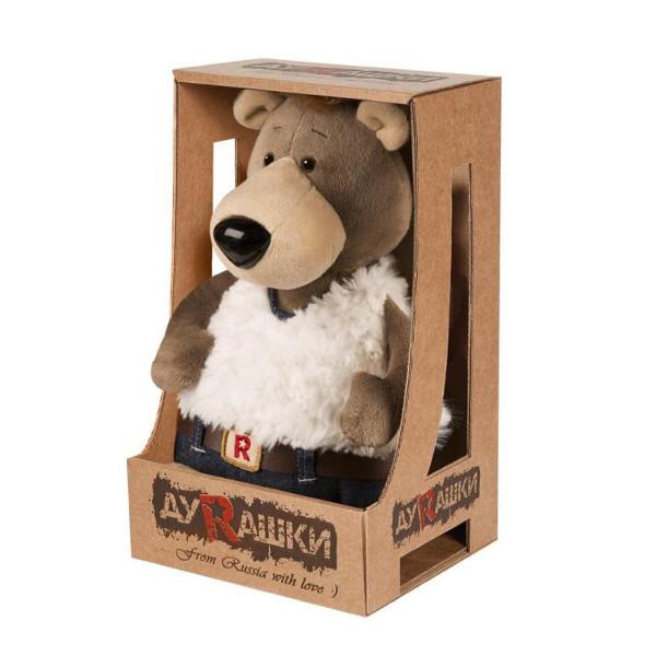 Мягкая игрушка Медведь в джинсах, 26 см ДуRашки MT-TS03202003-26