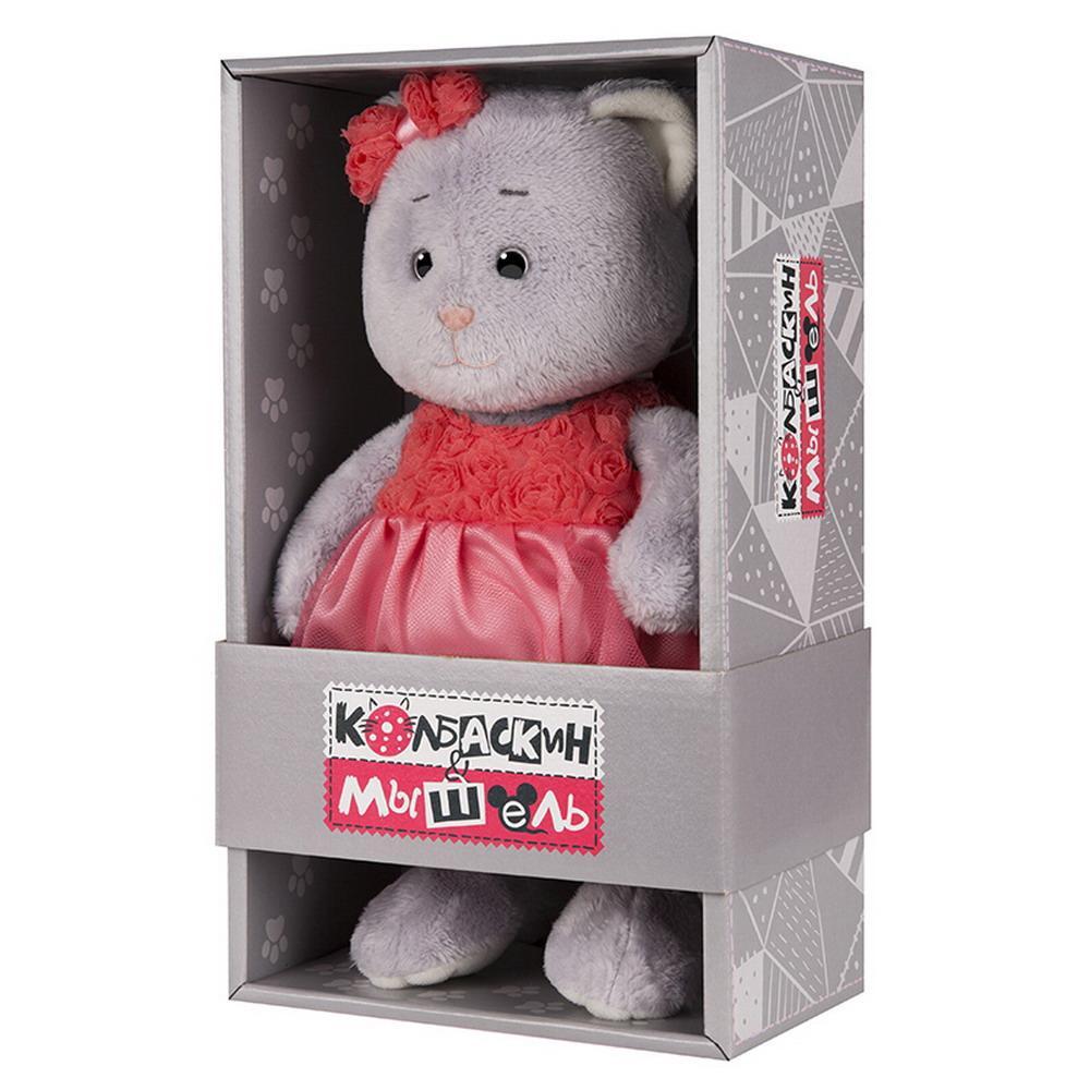 Мягкая игрушка Мышель, 20 см, в красном платье Колбаскин&Мышель MT-MRT062003-20