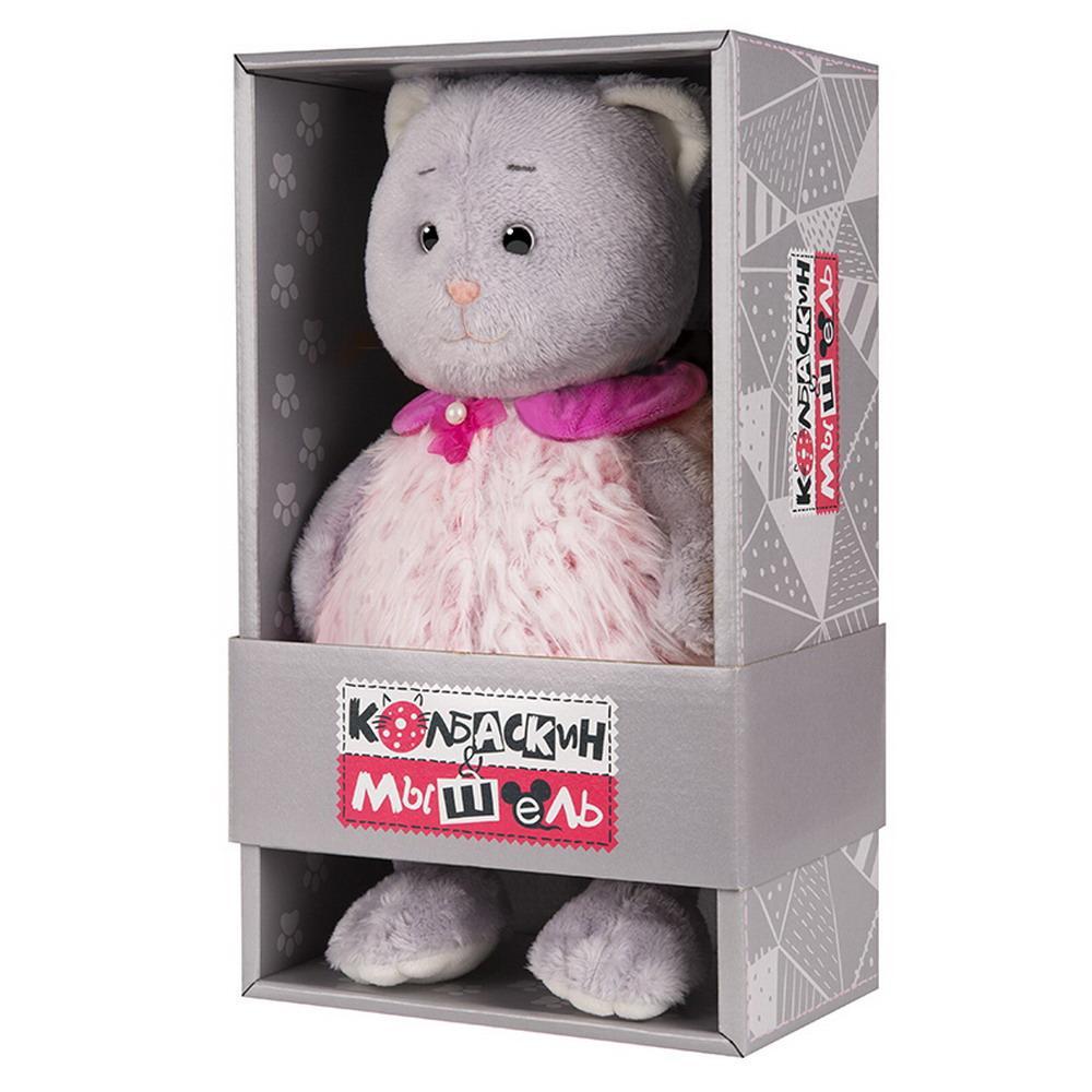 Мягкая игрушка Мышель, 25 см, в розовой жилетке Колбаскин&Мышель MT-MRT062009-25
