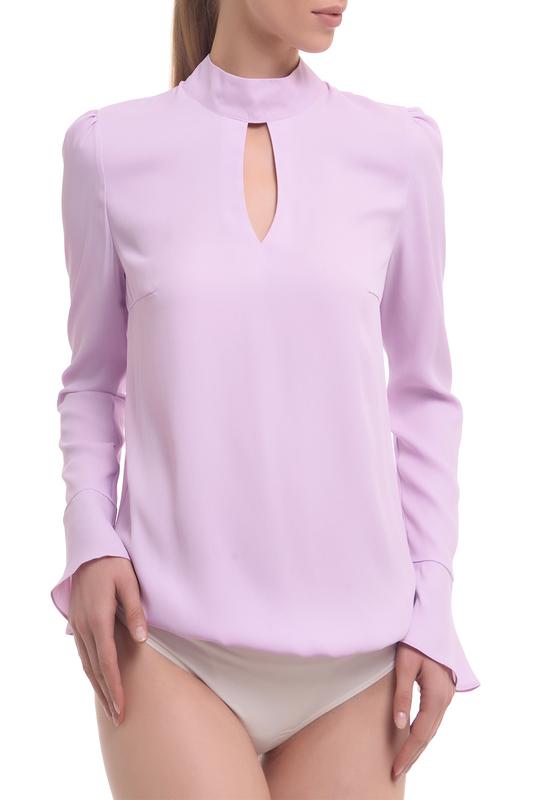 Блуза-боди женская GENEVIE L 5504 фиолетовая 50