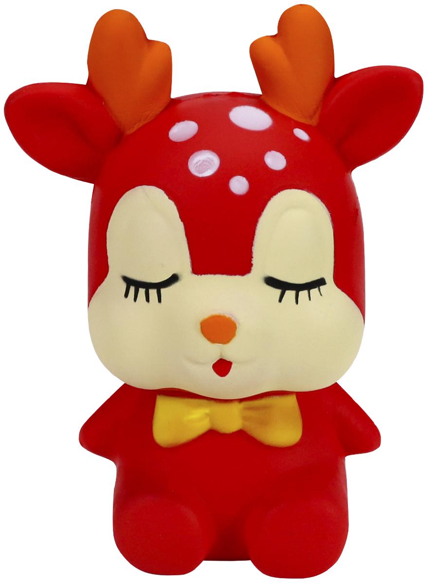 Антистресс-мялка Рыжий кот Олень MH07