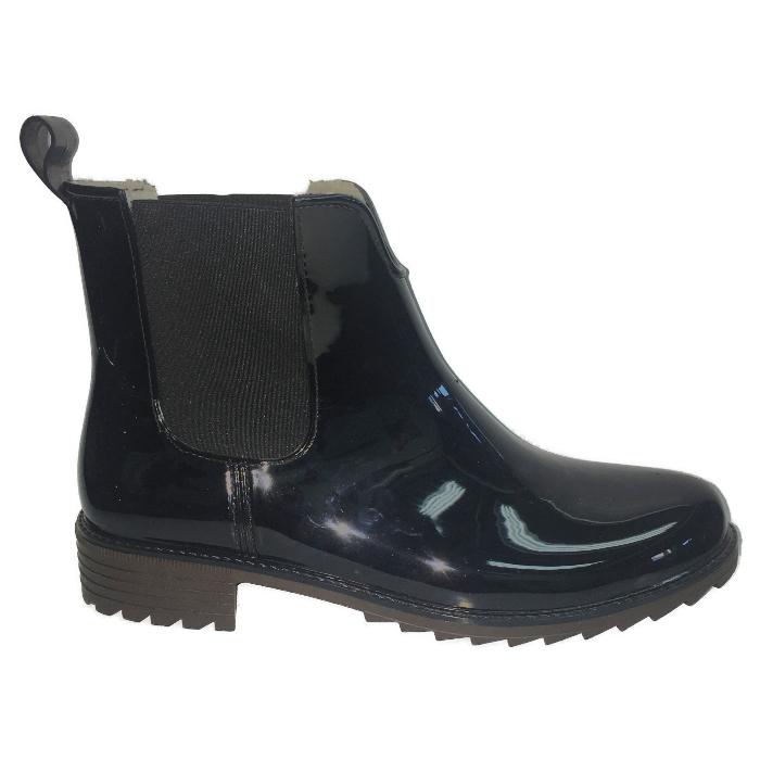 Резиновые сапоги женские Rieker P8280-00 черные 41 RU