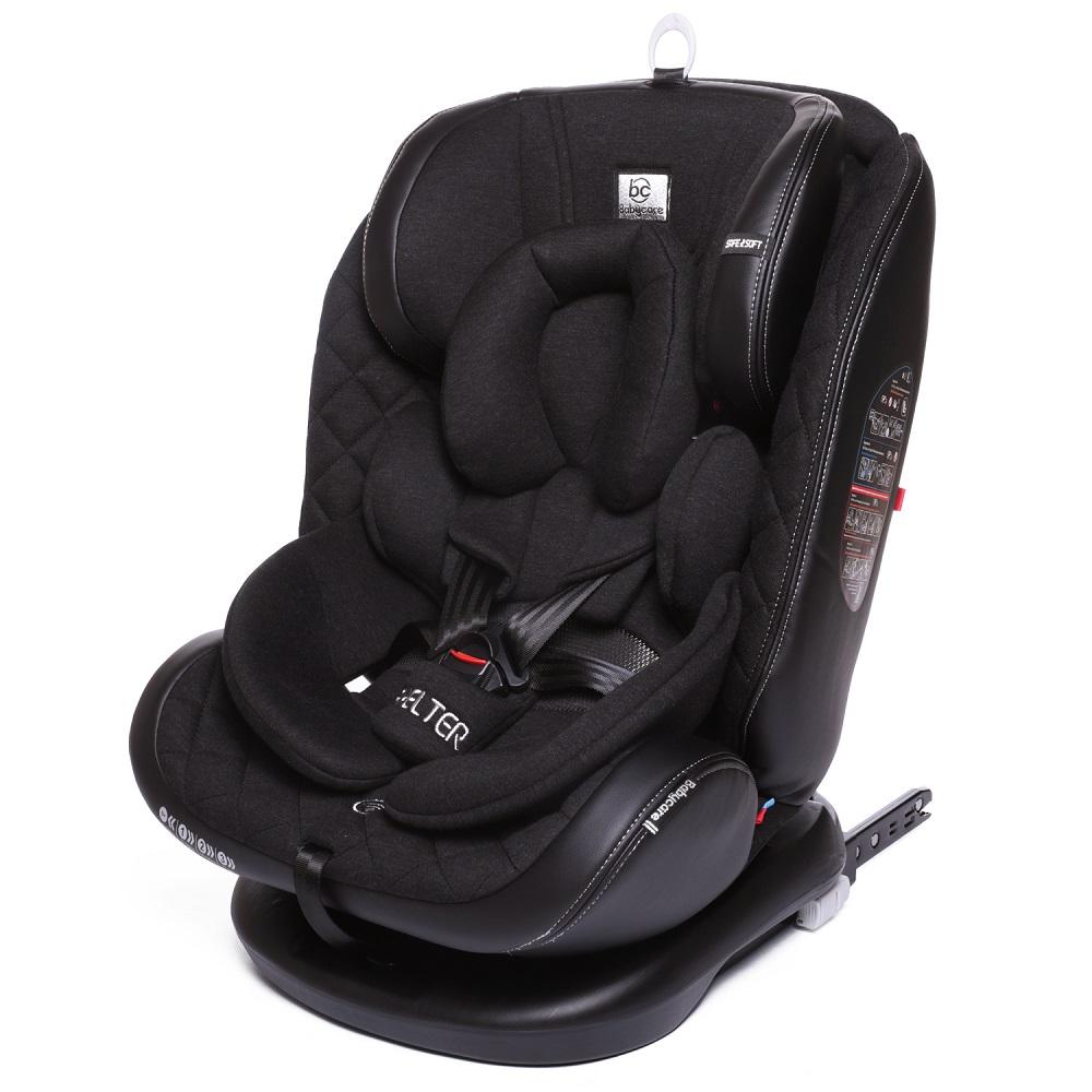 Автокресло Babyсare Shelter гр 0+/I/II/III, 0-36 кг, new Eco Black Silver Baby Care