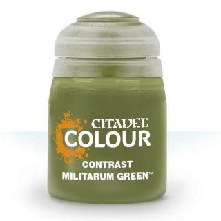 Купить Контрастная краска Games Workshop Militarum Green 29-24,