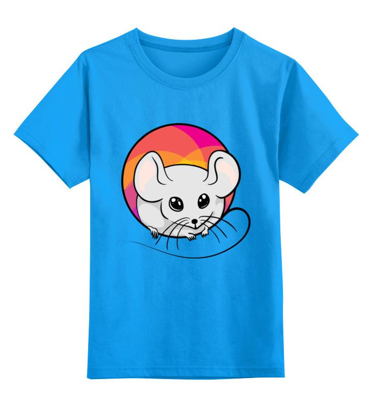 Купить 0000003062620, Детская футболка классическая унисекс Printio Мышонок,