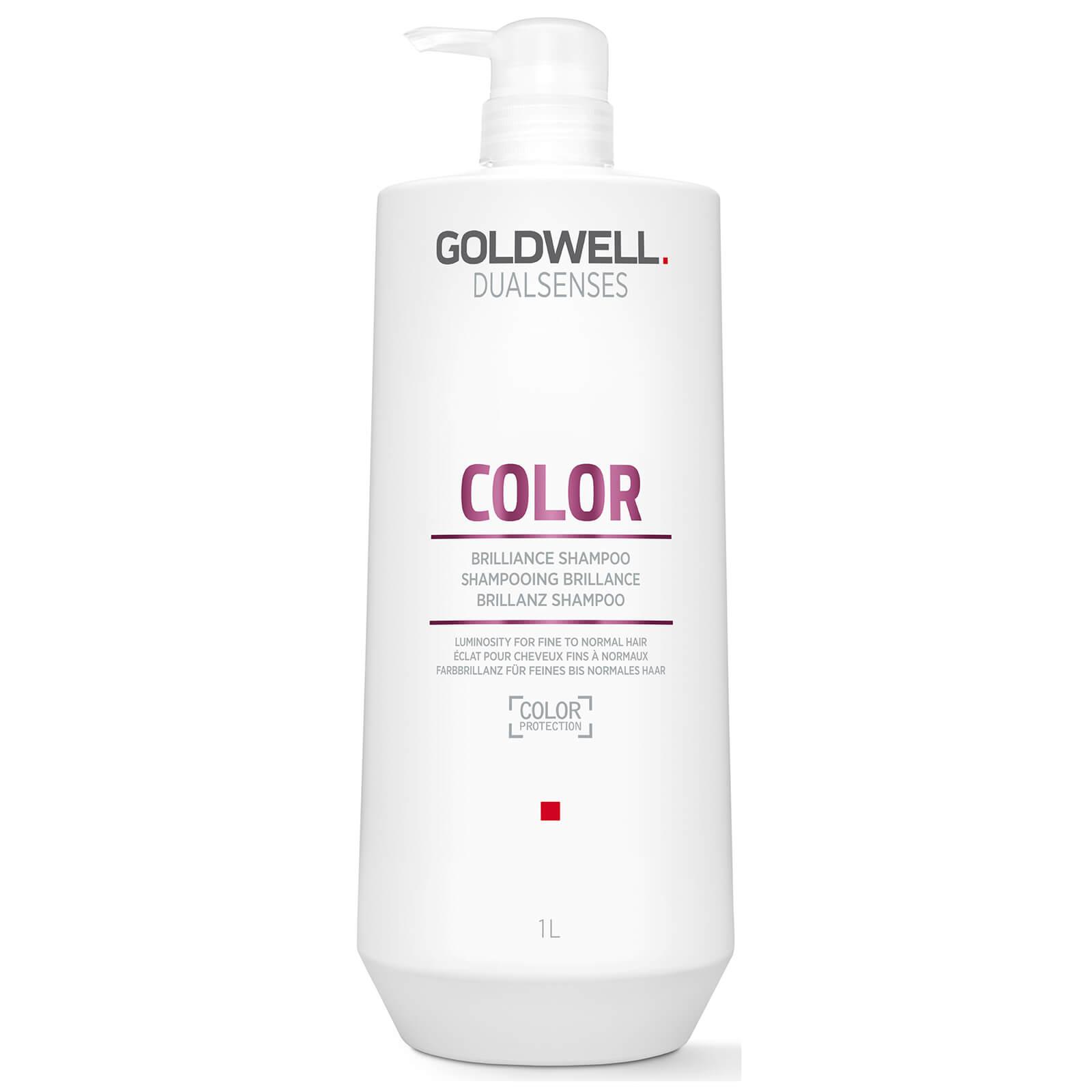 Купить Шампунь для блеска окрашенных волос Goldwell Dualsenses Color Brilliance Shampoo 1000 мл