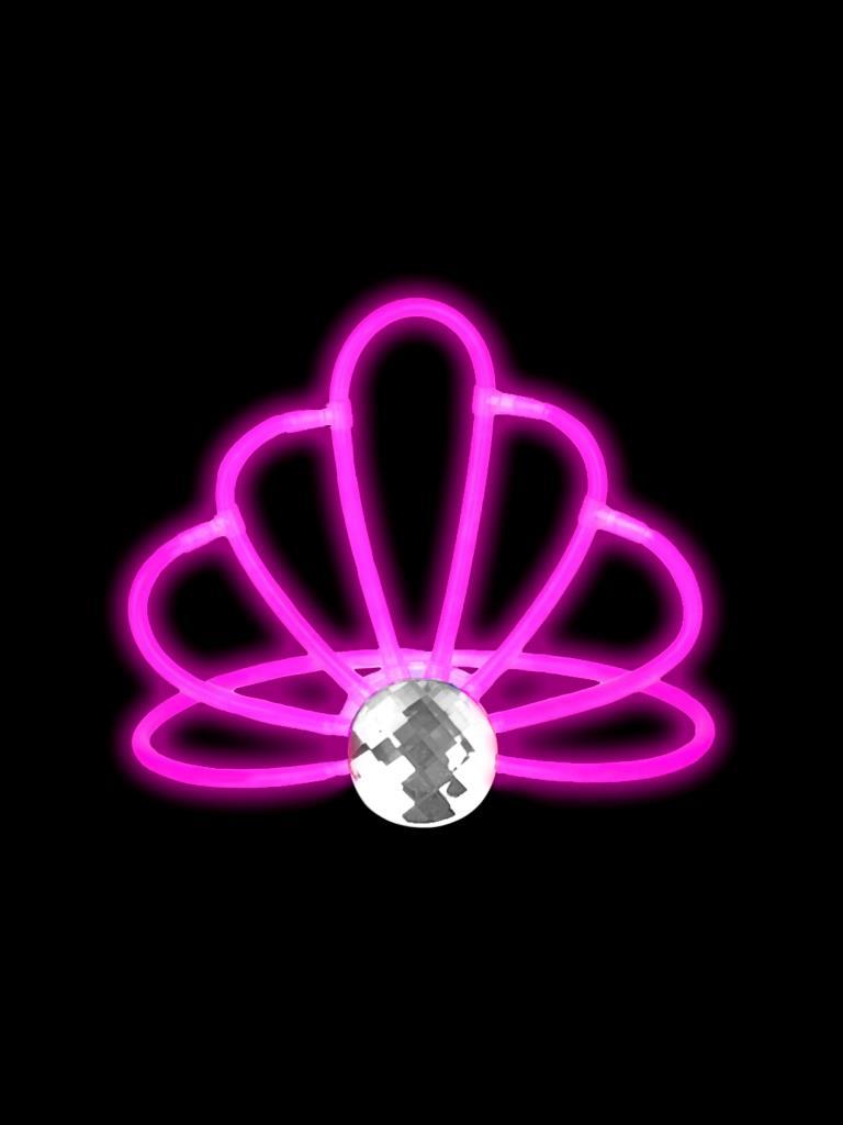 Светящаяся диадема Феникс-Презент Розовая корона