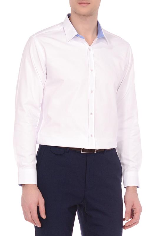 Рубашка мужская KarFlorens MIM1 белая M