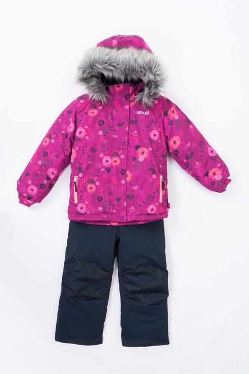 Купить F 20 M 714, Куртка для девочек Buki цв. разноцветный р-р. 128,