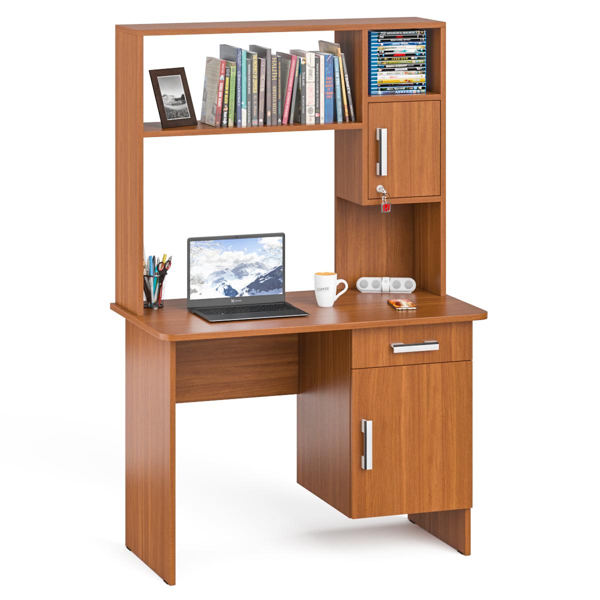 Стол письменный с надстройкой Мебельный Двор
