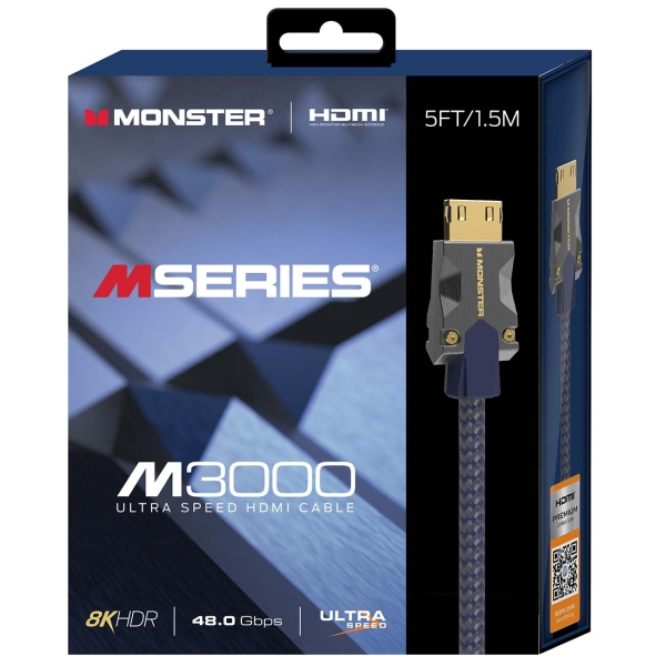 Кабель Monster HDMI 1,5м Blue VMM10007