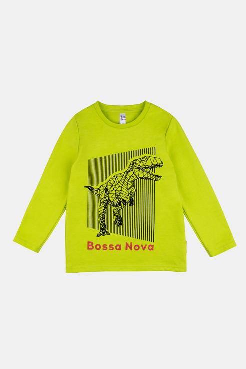 Купить 178В21-161, Лонгслив для мальчиков Bossa Nova цв. зеленый р-р. 134,