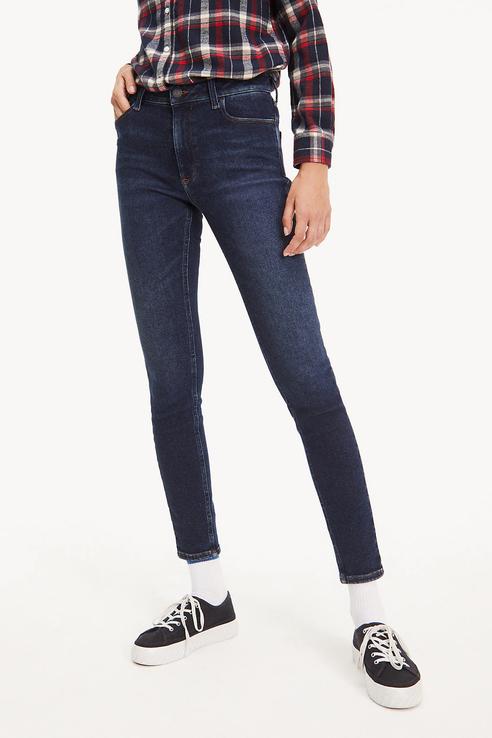 Джинсы женские Tommy Jeans DW0DW06589 синие 29/32