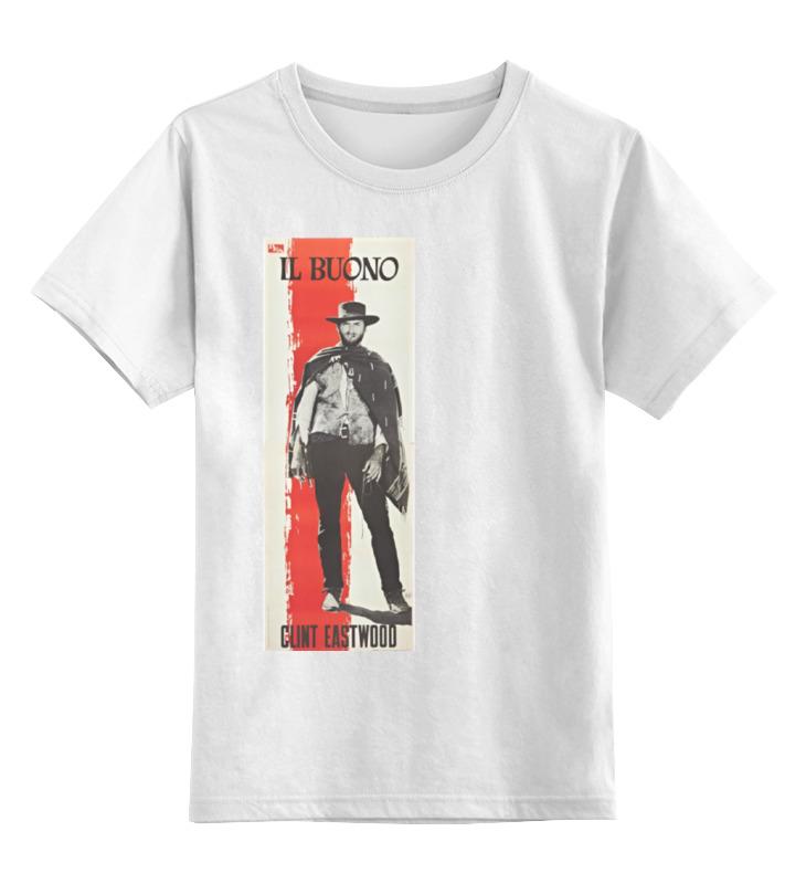 0000000653422, Детская футболка классическая Printio Il buono, р. 164,  - купить со скидкой