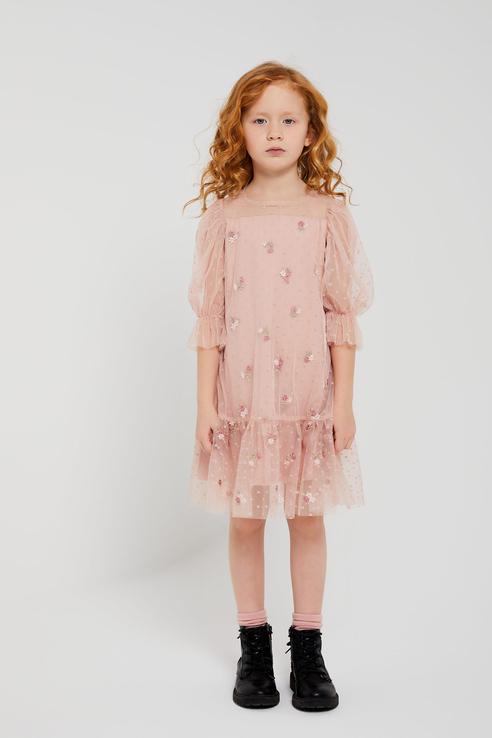 Купить 1803040727, Платье для девочек Sela цв. розовый р-р. 98,