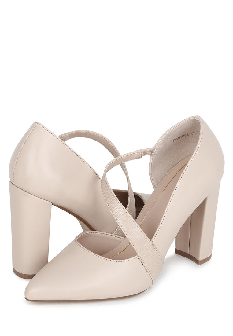 Туфли женские T.Taccardi K0267PM-17C бежевые 37.5 RU