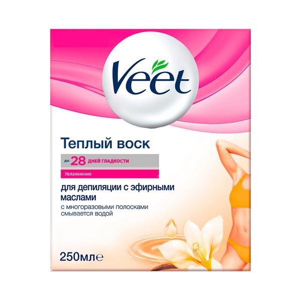 Купить Воск для депиляции Veet Эфирные масла 250 мл, эфирные масла