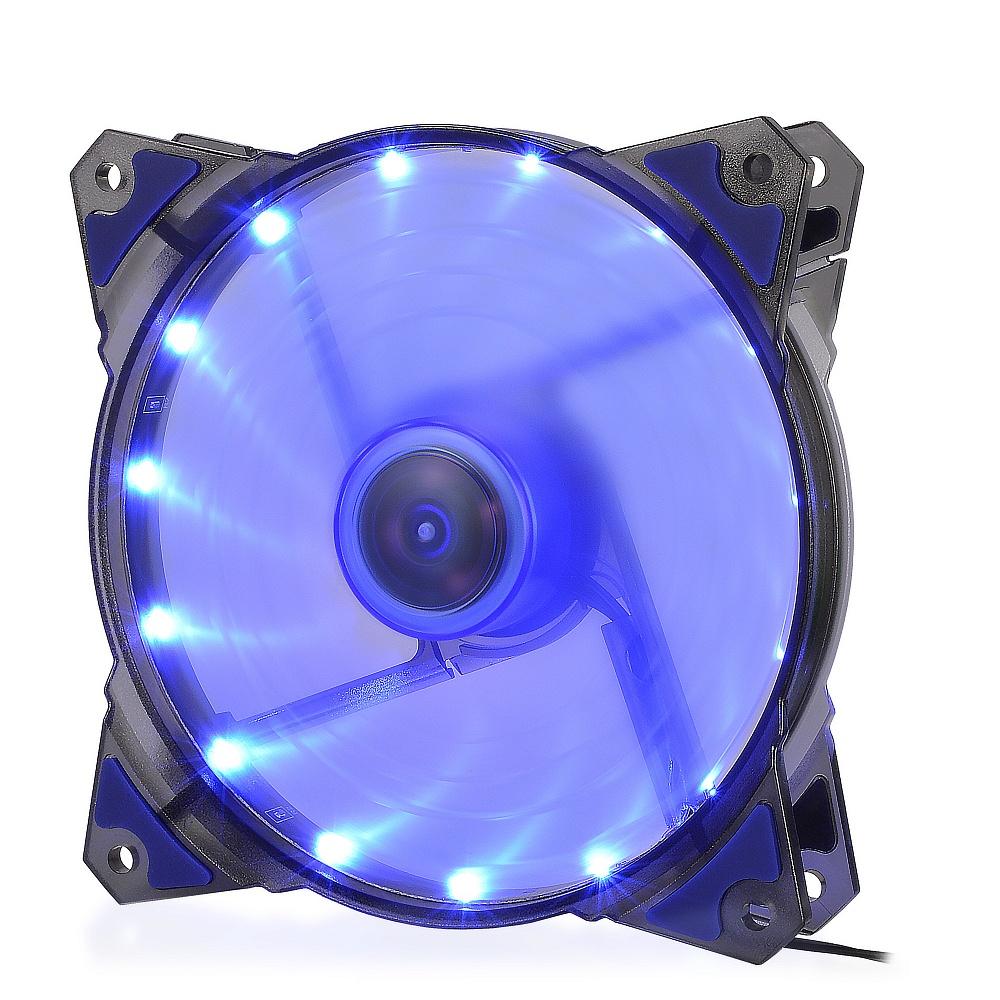 Корпусной вентилятор Crown Micro Blue LED (CMCF