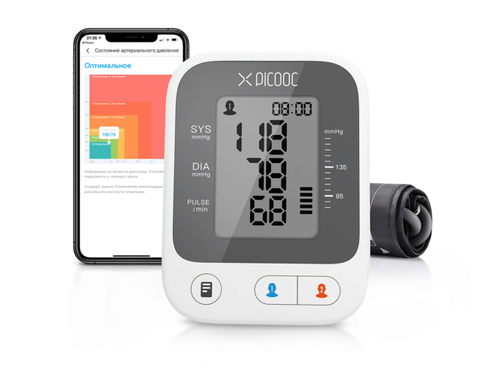 Умный монитор артериального давления Picooc X1 Pro