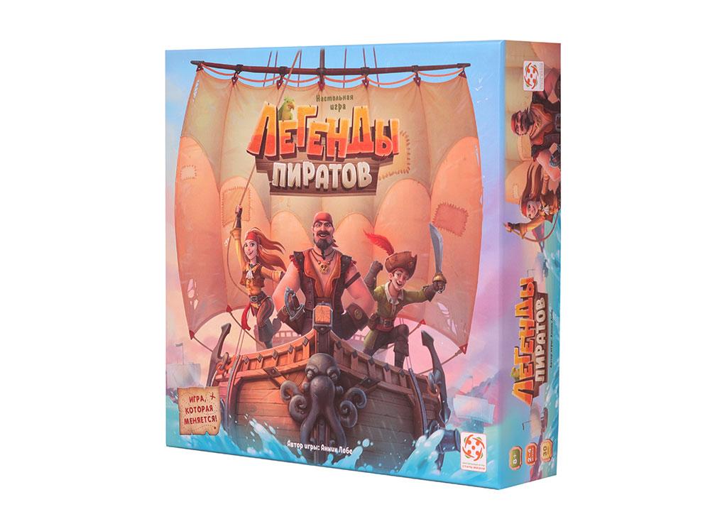 Настольная игра Легенды пиратов Стиль жизни УТ100028449