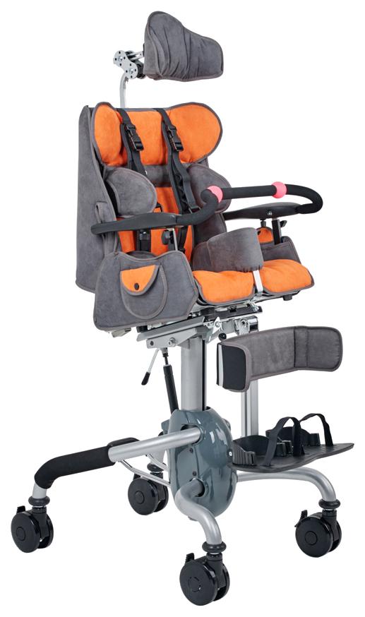 Купить Кресло-коляска для детей с ДЦП Fumagalli Mitico Simple Dentro (размер M, оранжевый)