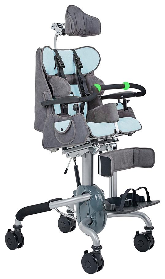 Купить Кресло-коляска для детей с ДЦП Fumagalli Mitico Simple Dentro (размер M, голубой)