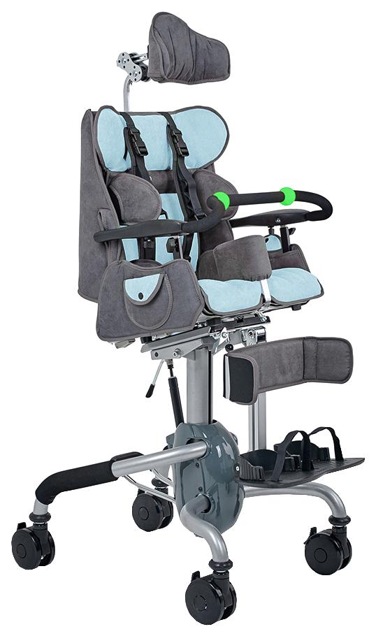 Купить Кресло-коляска для детей с ДЦП Fumagalli Mitico Simple Dentro (размер P, голубой)