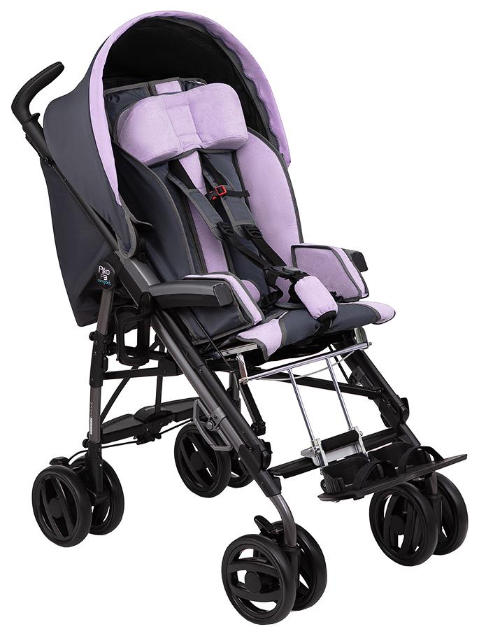 Коляска-трость инвалидная (для детей с ДЦП) Fumagalli Pliko (фиолетовый)  - купить со скидкой