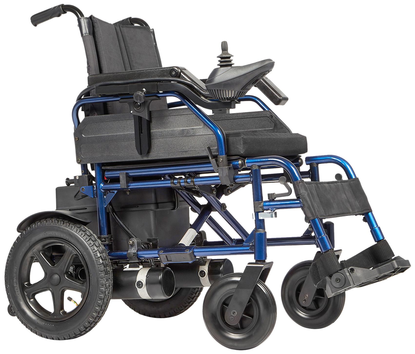 Купить Кресло-коляска c электроприводом Ortonica Pulse 120 (электроколяска) пневматические колеса