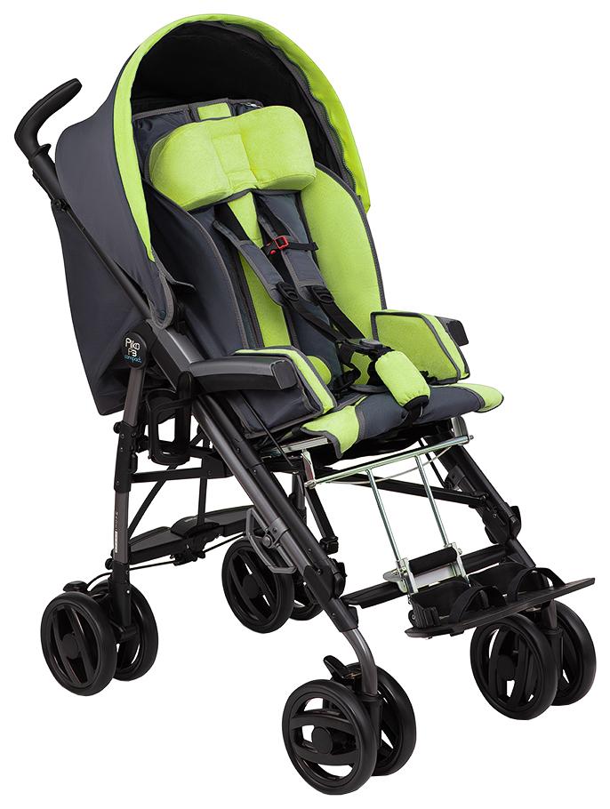 Купить Коляска-трость инвалидная (для детей с ДЦП) Fumagalli Pliko (зеленый)
