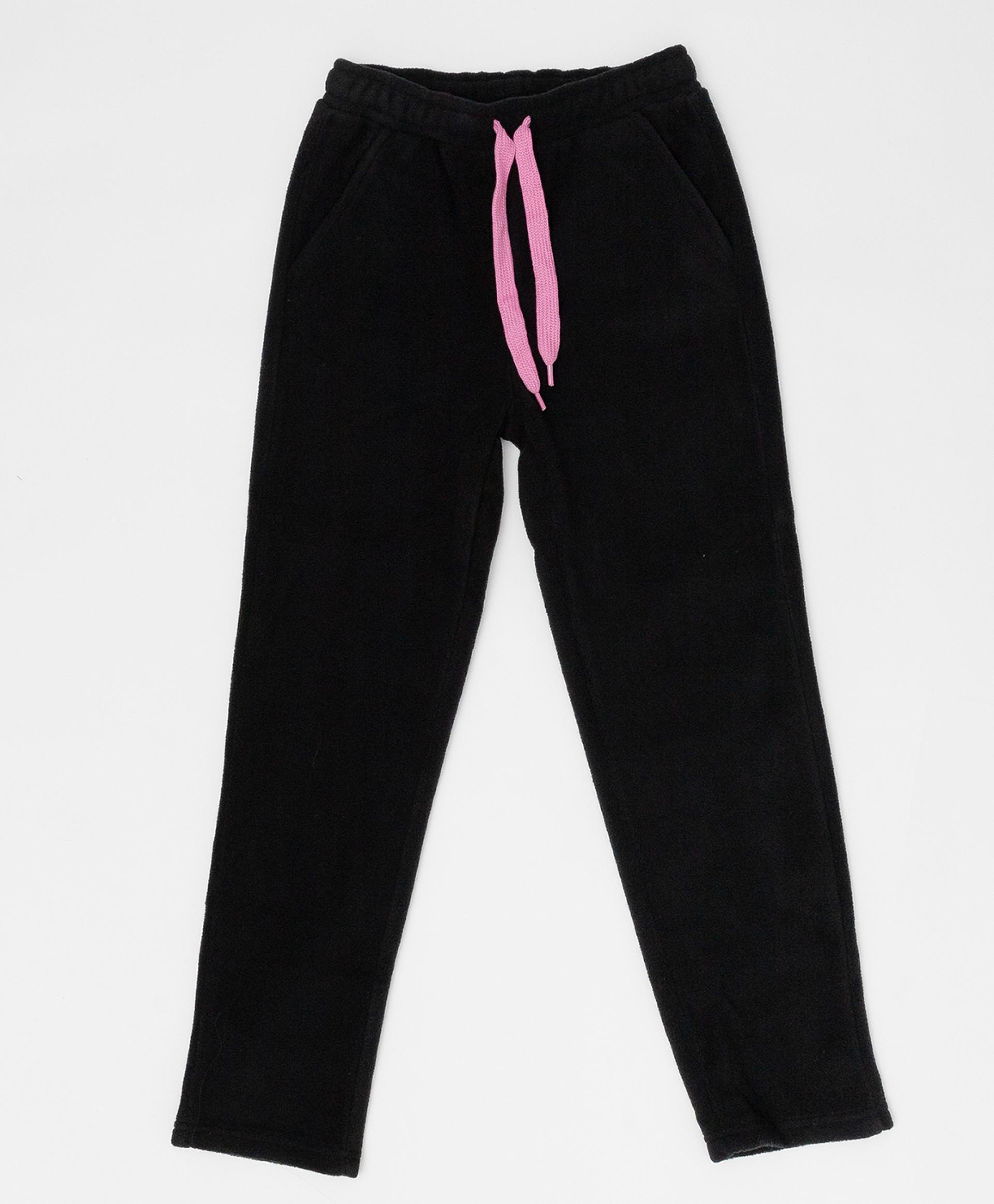 Купить Черные флисовые брюки Button Blue, размер 158 220BBGA56010800,