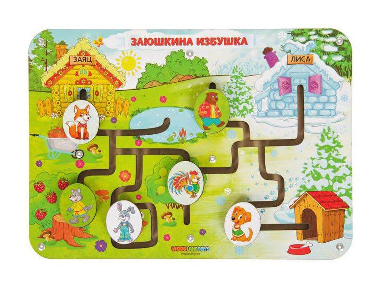 Лабиринт Woodland Сказки   Заюшкина избушка